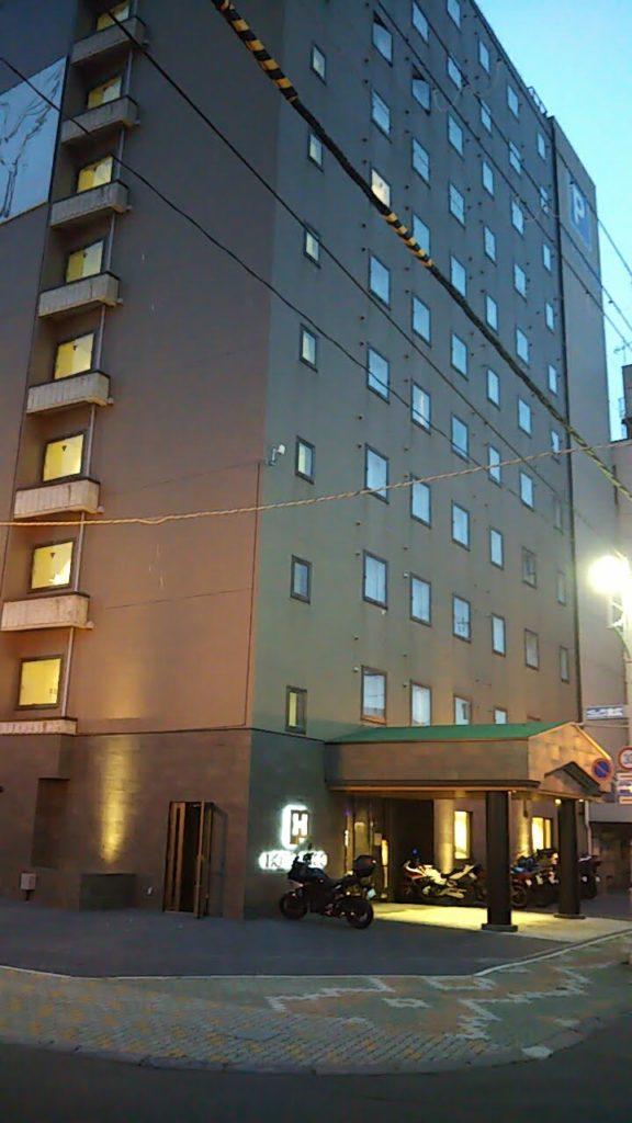 ホテルパコ釧路の外観